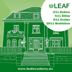Svetové vzdelanie na DOD LEAF Academy – už tento týždeň!